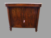 A George IV rosewood side cabinet