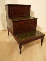 A Regency Period antique step commode