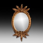 A late 19th Century Gilt Framed Antique Mirror