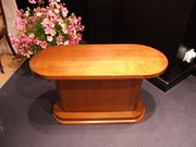 Art Deco Oval Oak Coffee Table