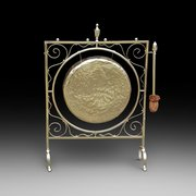Art Nouveua Brass Gong
