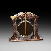 Arts & Crafts Copper and Brass Dinner Gong
