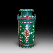 Bargeware Painted Milk Churn