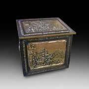 Brass Log Box