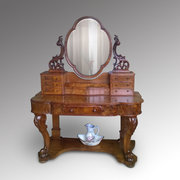 Burr Walnut Duchess Dressing Table