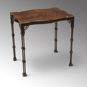 Chippendale Revival Silver Table