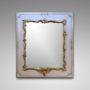 Cream Enamelled Picture Frame