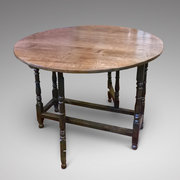 Early 18th Century Oak Gate Leg Table