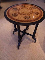 Edwardian Ebonised Occaisional Table