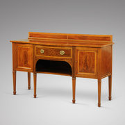Edwardian Inlaid Mahogany Sideboard
