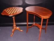 Edwardian Mahogany Kidney Shaped Table