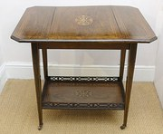 Edwardian Rosewood  Pembroke Table