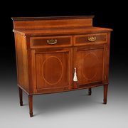 Edwardian mahogany drinks cabinet