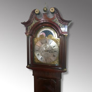 Eight Day Longcase Clock by W. Simcock of Presott