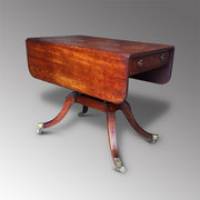 Fine Regency Mahogany Pembroke Table