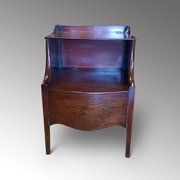 George III Mahogany Lancashire Commode