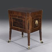 George III Mahogany Wine Cooler Cellarette