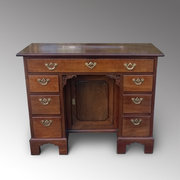 George II Mahogany Kneehole Desk