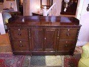 Georgian mahogany sideboard