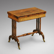 Gillows Regency Rosewood Card Table