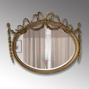 Gilt Gesso Wall Mirror