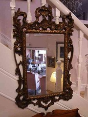 Giltwood Roccoco Style Mirror 1880