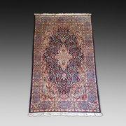 Hand Woven Woolen Kirman Persian Carpet