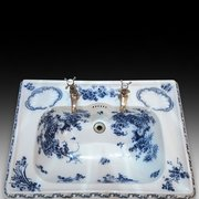 High Victorian Porcelain Sink