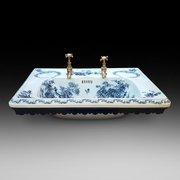 High Victorian Porcelain Sink
