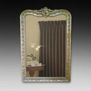 Impressive Victorian giltwood overmantle mirror