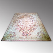 Large Finely Woven Wool Rug
