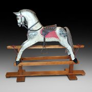 Late 19thC/Early 20thC Collinson Rocking Horse