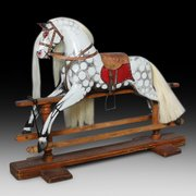 Late 19thC Rocking Horse by F.H. Ayres
