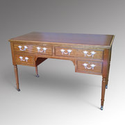 Late 19th Century Satinwood Desk