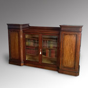 Late Regency Mahogany Bookcase