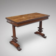 Late Regency Rosewood Card Table