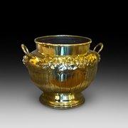 Late Victorian Brass Jardiniere / Planter