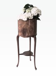 Late Victorian Burr Walnut Planter