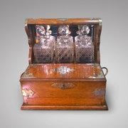 Late Victorian Oak Tantulus