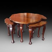 Mahogany Nest of Coffee Tables
