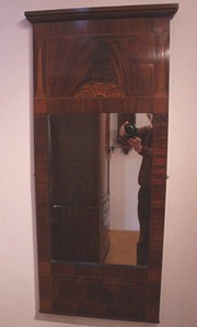 Mahogany Pier Glass ~ Mirror