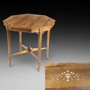 Maple & Co. Edwardian Octagonal Centre Table