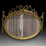 Mid 19th Century Neo Classical Style Mirror