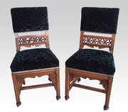 Pair if Gothic Chairs