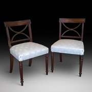 Pair of Early 19th Century Mahogany Dining Chairs