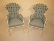 Pair of Italian Carved Arm Chairs