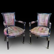 Pair of Regency Salon Chairs