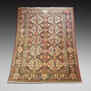 Persian Baluch Hand Woven Woolen Carpet
