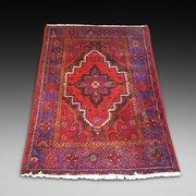 Persian Hamadam Woolen Rug