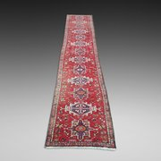 Persian Kashan Pure Wool Runner